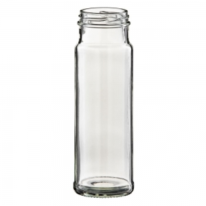 250ml Glass Tall Gourmet Jar With 48mm Twist Neck