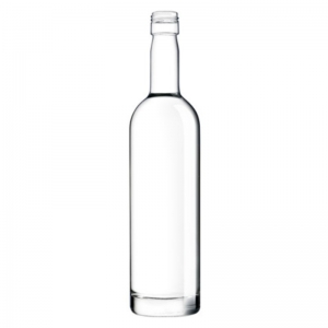 250ml Flint Glass Ariane 2 Bottle With 22mm x 30mm BVP ROTE Neck