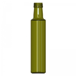 250ml Antique Green Glass Dorica Bottle With PP31.5mm Neck