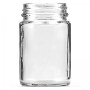 125ml Flint Glass Jar With 48mm 400 Screw Neck